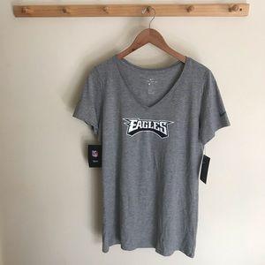 NWT Nike Philadelphia Eagles Women's Shirt Large